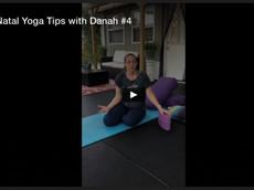 PreNatal Yoga Tips with Danah #4