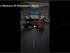 Partner Workout #4, Resistance Band