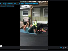 The Dirty Dozen #2, Ladder Style Workout