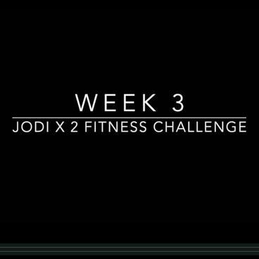 Jodi x 2 Challenge Week 3