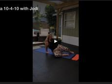 Trifecta 10-4-10 with Jodi