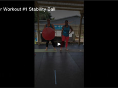 Partner Workout #1, Stability Ball