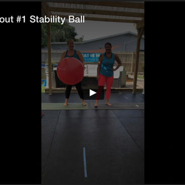 Partner Workout #1 Stability Ball, 15 Min Fit Break
