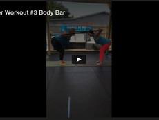 Partner Workout #3, Body Bar