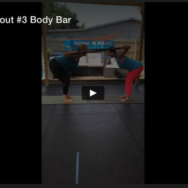 Partner Workout #3 Body Bar