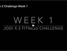 Jodi x 2 Challenge Week 1