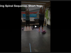 Standing Spinal Sequence, Short Yoga Practice