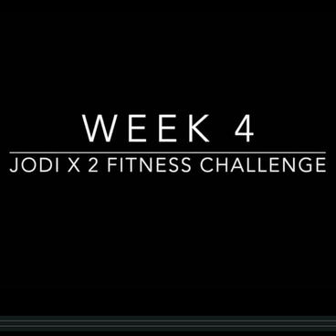 Jodi x 2 Challenge Week 4