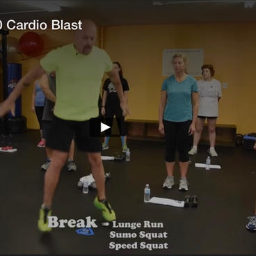The Rounds of 10 Cardio Blast