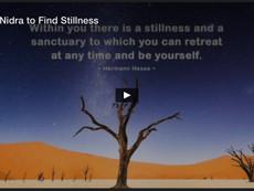 Short Nidra to Find Stillness