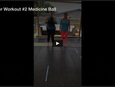 Partner Workout #2, Medicine Ball