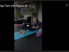 PreNatal Yoga Tips with Danah #3