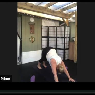 Yoga Slow Flow #1 via Zoom