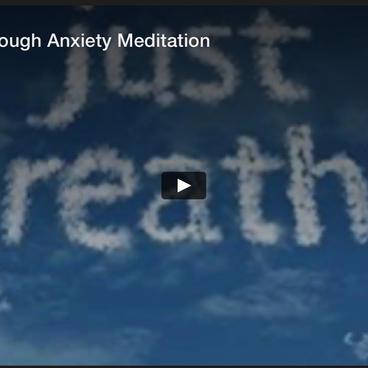 Breathing through Anxiety Meditation