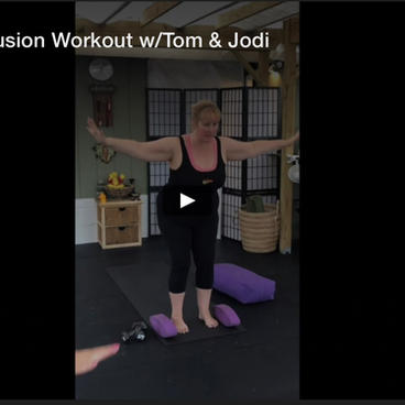 Tabata Yoga Fusion Workout w/Tom & Jodi