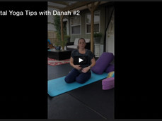 PreNatal Yoga Tips with Danah #2