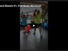 Balls and Bands #1, Full Body Workout