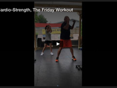 Abs-Cardio-Strength, The Friday Workout
