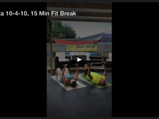 Trifecta 10-4-10, 15 Min Fit Break