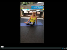 Lower Back Love Stretch Sequence