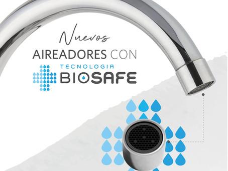Lanzamiento: Aireadores Baño & Cocina con Tecnología Biosafe®