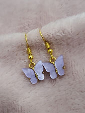 Founder Sash handmakes each and every pair of these adorable butterfly earrings in Newton le willows.  Affordable cute little stocking fillers at just £4 a pair, free uk delivery!
