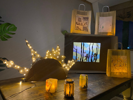 Light up 2021 with our glow lantern craft classes