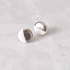 Founder Rach handcrafts these unusual porcelain studs from her studio in Cornwall (whilst the kids are at school!) Her favourite piece of the current collection are the porcelain sphere studs. Contemporary, modern, chic, they can be worn anywhere, and go with anything. Finished with solid sterling silver post & scrolls, perfect for sensitive skin.