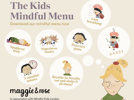 The mindful kids' menu