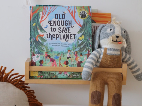 Earth Day Book Club and craft class