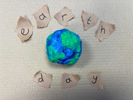 Make your own paper mache planet Earth