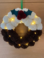 Orla Daly's small business is based in Kent and makes lots of gifts and homeware, especially for Christmas, whilst trying to be as eco as possible. She offers free personalisation on a lot of products to tailor to each person. The website also sells some very pretty jewellery but right now it's her pom pom Christmas wreaths that are proving popular.