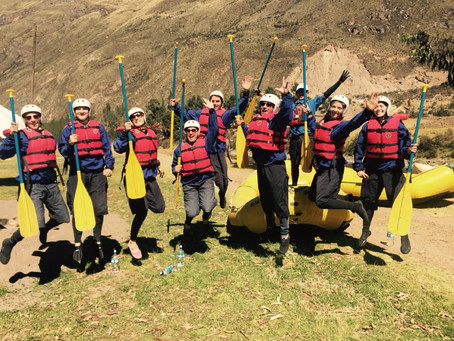 Day 18 - Tour Day 14 - Rafting & Last Dinner