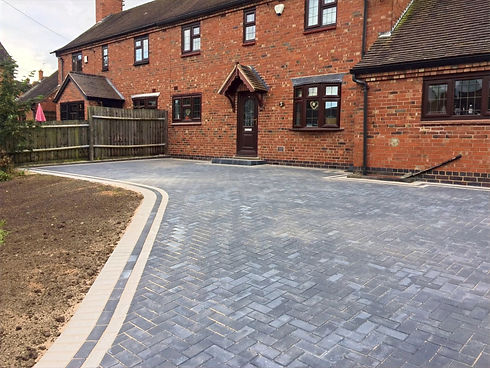 Midland Landscapes & Swift Contractors - Balsall Common Driveways