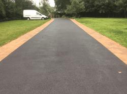Midland Landscapes & Swift Contractors - Coventry Asphalt Driveway
