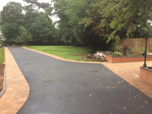 Midland Landscapes & Swift Contractors - Coventry Asphalt Driveway