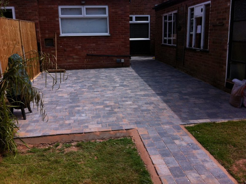 Midland Landscapes & Swift Contractors - Coventry Block Paving