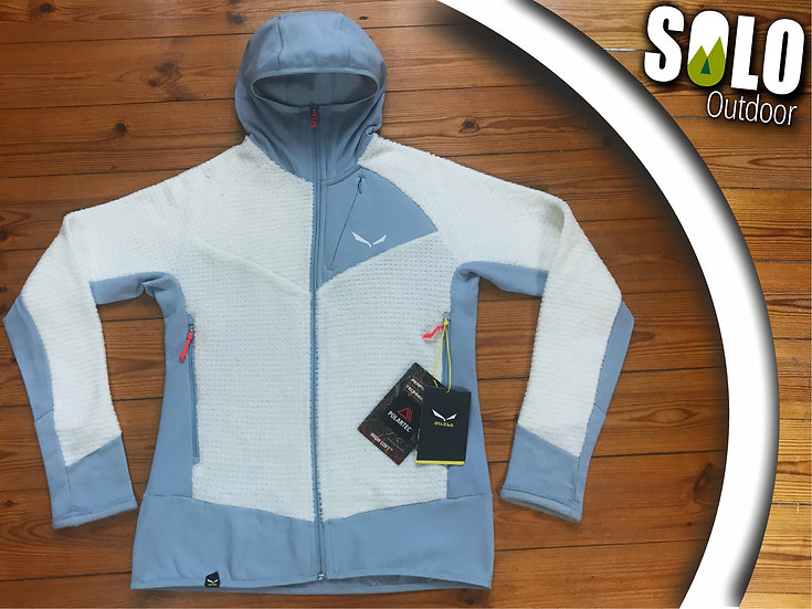 40 (US L) ◼ SALEWA Polartec HIGH-LOFT warme Fleece-Kapuzenjacke