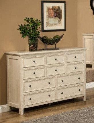 Torrey 10 Drawer Dresser