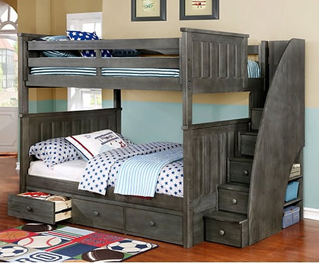 Jordan Bunk Bed w/ 3 Drawer Storage