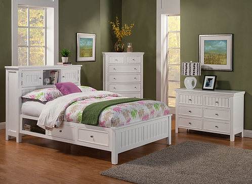 Hillcrest Bookcase Bed