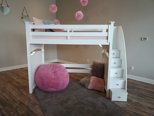 Ashley Loft Bed w/ Staircase