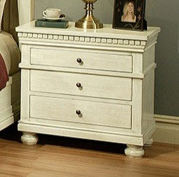 Del Mar 3 Drawer Nightstand