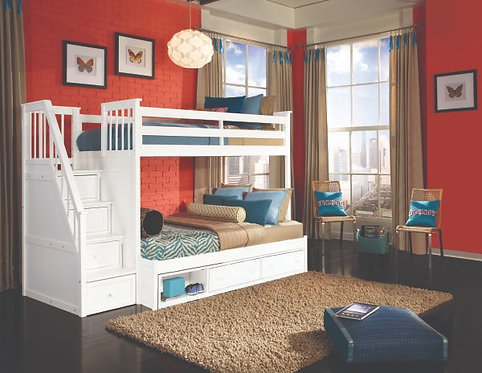 Mission Stair Bunk Bed