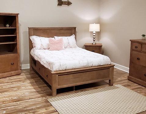 Vista Bed w/ Storage Options