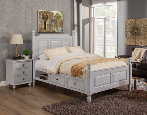 Clairemont Bed Grey