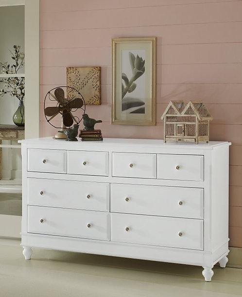 Lake House 8 Drawer Dresser