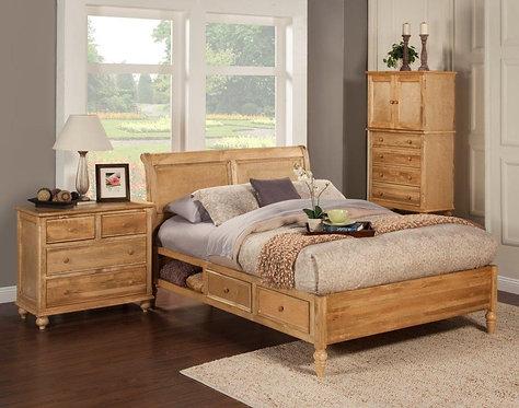 Bay Ho Sleigh Bed