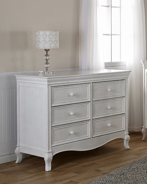 Diamante Dresser Vintage White