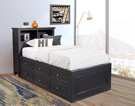 Balboa Bookcase Bed